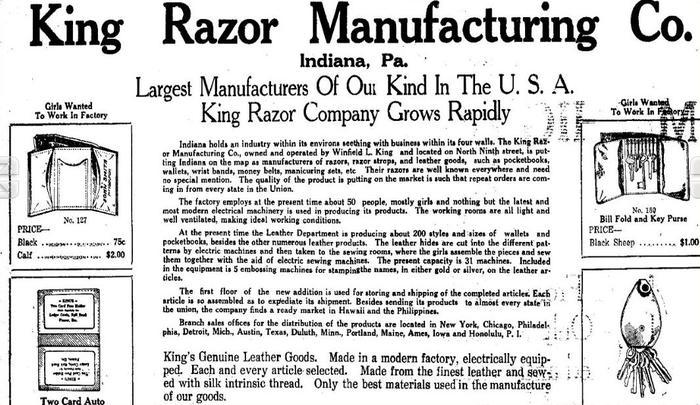 Name:  king razor mfg newspaper clip.jpg Views: 1879 Size:  82.5 KB