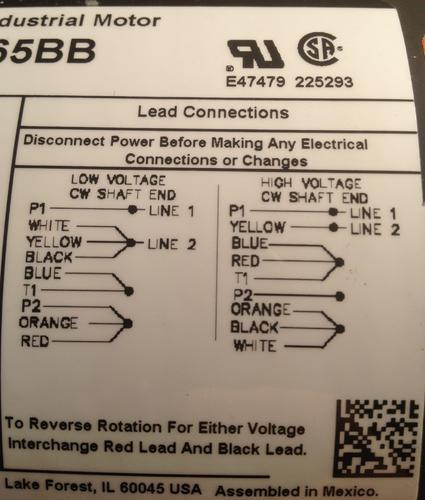 Dayton Motors Wiring Diagram | Wiring Diagram on