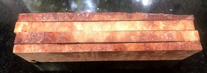 Name:  Red Mallee Burl Blanks Side View.jpg Views: 45 Size:  31.5 KB